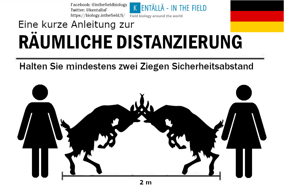 Germans interviewed for our field guide were particularly excited about the prospect of having a two goat measurement for their safety zone. And why not, goats are great!